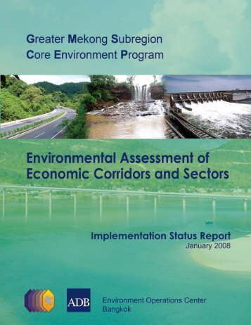 Environmental Assessment of Economic Corridors and ... - GMS-EOC