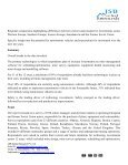 JSB Market Research: Technology Investment Priorities in Mining in Europe and the Former Soviet Union, 2015 - Page 2