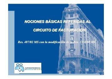 Proceso de Facturacion HPGD Oct 2010 - Superintendencia de ...