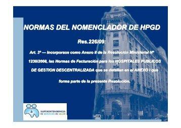 Normas de facturación Oct 2010 - Superintendencia de Servicios de ...