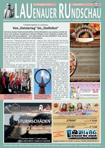 Lauenauer Rundschau 15/04