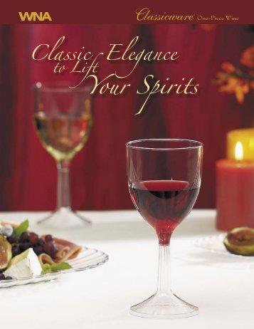 Classicware® One-Piece Wine - Wna