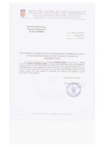 Stabylan 5001 - FUCHS Maziva