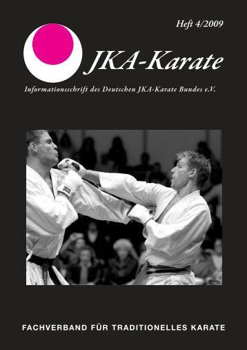 Heft 4/2009 - Deutscher JKA-Karate-Bund e.V.