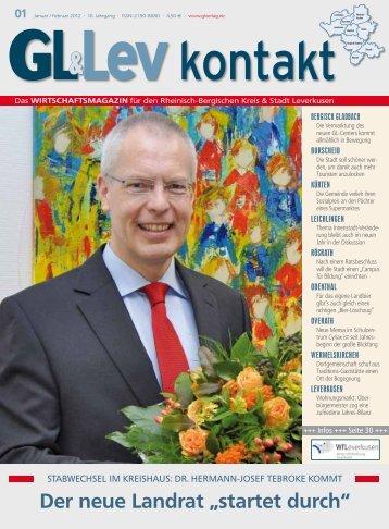 """Der neue Landrat """"startet durch"""" - GL VERLAGS GmbH"""