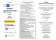 Dialog zwischen Zoll und Wirtschaft 22. Europäischer ... - EFA Münster
