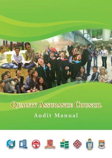 Audit Manual - University Grants Committee