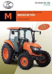 Magazin Kubota Traktoren M6060/ M7060