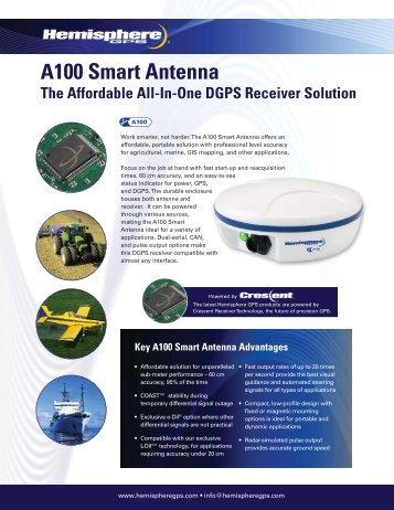 A100 Smart Antenna (data sheet) - CT Systems
