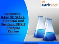 Aarkstore - BASF SE (BAS) - Financial and Strategic SWOT Analysis Review