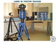 LASER 3D POSITION TRACKER