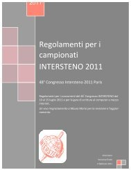 Regolamenti 2011 Italiano - Intersteno