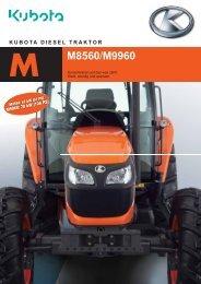 Magazin Kubota Traktor M8560/ M9960