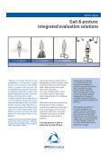 Gait & posture: integrated evaluation solutions - Bts.it - Page 2
