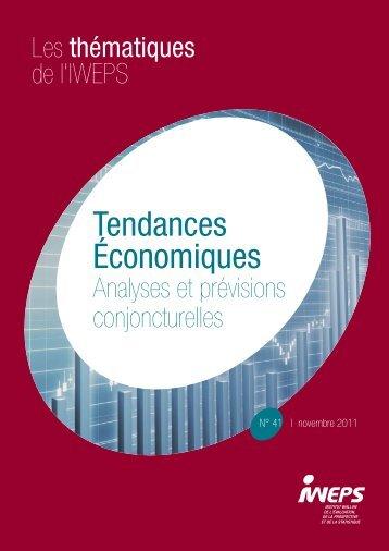 Tendances économiques 41 - IWEPS