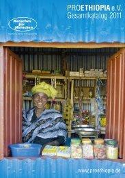 PROETHIOPIAe.V. Gesamtkatalog 2011 - Menschen für Menschen