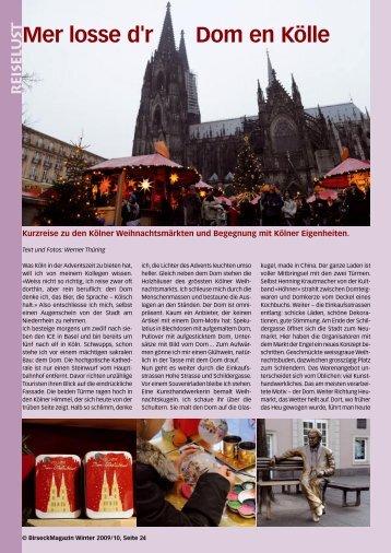 reiselust - Birseck Magazin
