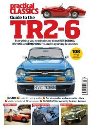Practical Classics Guide to the TR2-6