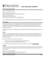 Career Exploration Handbook