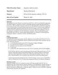 Signatory form - Indiana University Alumni Association