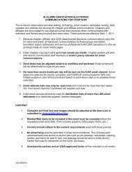 View the IUAA's policy for chapter emails - Indiana University Alumni ...