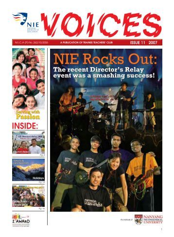 Issue 11 - National Institute of Education