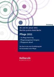 Vorprogramm (PDF) - Heilberufe