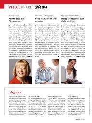 PFLEGE PRAXIS News - Heilberufe