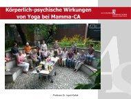 Kollak, Ingrid: Yoga für Frauen nach ... - Heilberufe