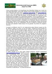 Ausführlicher Tourbericht als PDF Dokument