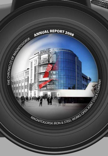 Annual Report 2008 - Magnitogorsk Iron & Steel Works