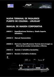 Manual de Identidad Corporativa Nueva Terminal de Colonia.p65