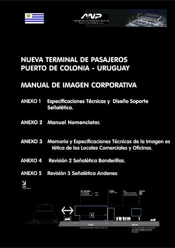 Manual de Identidad Corporativa Nueva Terminal de Colonia.p65