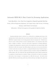 Automatic IEEE 802.11 Rate Control for Streaming Applications