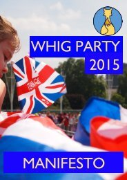 The-Whig-Party-Manifesto-2015