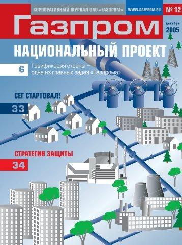12 (декабрь) - Газпром