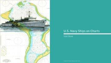 U.S. Navy Ships on Charts by Adam Koltz