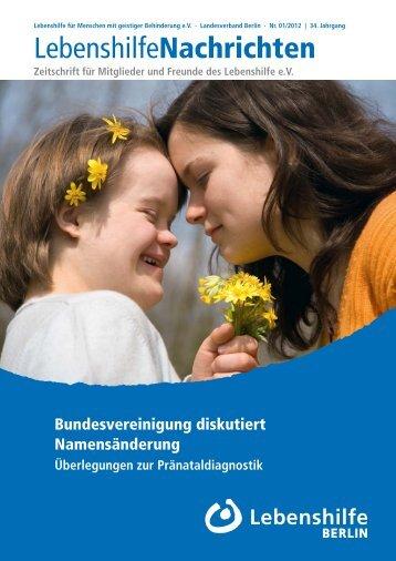 Arbeiten mal anders: Wir suchen Reisebegleiter - Lebenshilfe Berlin