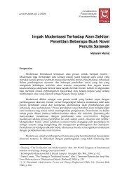 Impak Modenisasi Terhadap Alam Sekitar - Jabatan Bahasa dan ...