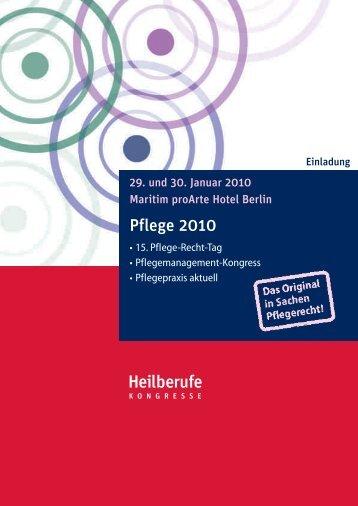 Pflege 2010 - Heilberufe