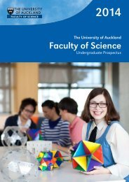 2014 Undergraduate Prospectus - Faculty of Science - The ...
