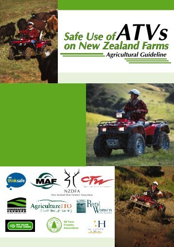 ATVs on New Zealand Farms - Safe Use of