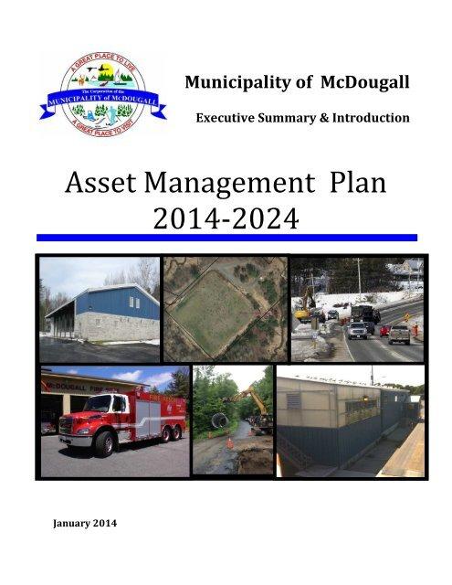 Asset Management Plan - Summary & Introduction