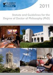 Statute and Guidelines for the Degree of Doctor ... - Faculty of Science