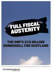 Full Fiscal Austerity