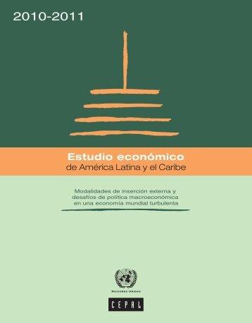 Estudio económico de América Latina y el Caribe 2010-2011