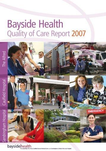 Bayside Health - Alfred Hospital