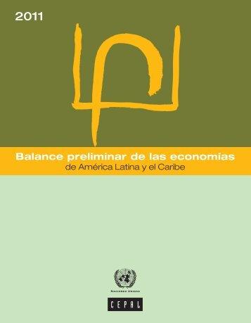 Balance preliminar de las economías de América Latina y el Caribe 2011