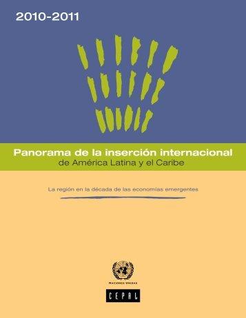 Panorama de la inserción internacional de América Latina y el Caribe 2010-2011