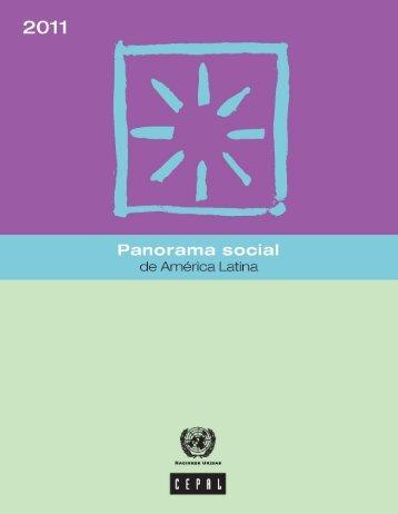 Panorama social de América Latina 2011